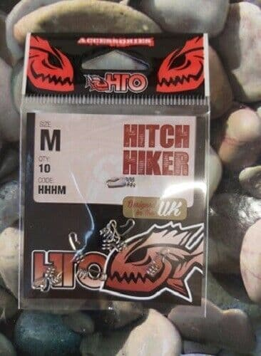 HTO Hitch Hiker size medium 10 per pack, for use with soft plastic lures